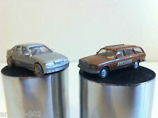 "Wiking - Mercedes 250 T ""Vollmer"" + Kentoys BMW Série 3 (HO - 1/87)"