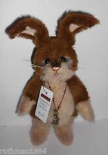 Charlie Bears HOPPITY HOP Bunny Rabbit Minimo ALPACA ~Isabelle Lee RETIRED Rare