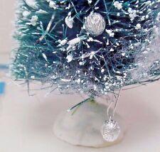 Miniature Dollhouse Christmas Tree Ornaments Lot