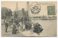 Le Tréport - Le Quai François 1er et le Port