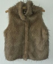 ZUPPE WOMENS FUR WAISTCOAT SIZE L (14-16),WORN ONCE,EXCELLENT CONDITION