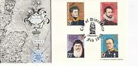 24 FEB 1995 DUNDEE CITY OF DISCOVERY BRADBURY LE COMMEMORATIVE COVER DUNDEE SHS