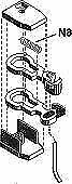 MICRO TRAINS LINE N SCALE COUPLER KATO SD40-2 RTR (4) | 102052