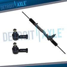 Complete Steering Rack & Pinion Assembly + Outer Tie Rod Ends for Stealth - 2WD