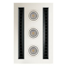 IXL TASTIC NEO VENT N LITE MODULE BATHROOM FAN & LIGHT 3x7W LED, WHITE *AUS Made