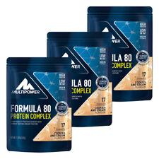 (26,59�'�/kg) Multipower 3x 510g Beutel Formula 80 Eiwei�Ÿ Protein + Bonus