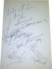 The Christians SIGNED AUTOGRAPHS MTVs Most Wanted AFTAL UACC