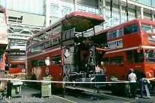 London Transport RM Repairs Aldenham 1979 Bus Photo