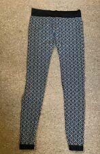 Metalicus Black/grey Patterned Leggings OSFM
