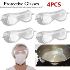4x Clear Lens Anti-impact Eye Protection Goggles Protective Lab Safety Glasses K