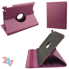 New 360 Degree Rotating Leather Smart Cover Stand Holder Case For iPad