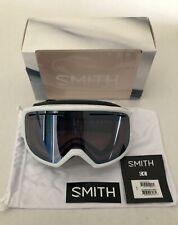 Smith Drift Women's Snowboard Ski Goggle White Frame Ignitor Mirror Lens New