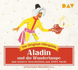 Aladin und die Wunderlampe und weitere Geschichten aus 1001 Nacht * Hörspiel Neu