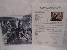 Boston Celtics '60-'61 Champs Team Autographed B & W 8x10 Photo – Full JSA LOA