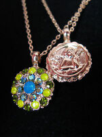 MARIANA GUARDIAN ANGEL SWAROVSKI CRYSTALS FLOWER Necklace Gift Mother's Day