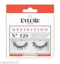 Eylure Definition No. 120 / 1 Pair Reusable False Eyelashes w/ Adhesive