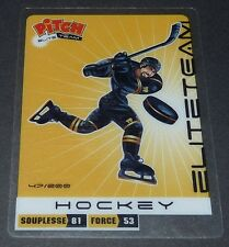 HOCKEY SUR GLACE ICE CARTE PITCH ELITE TEAM PASQUIER 2011 SPORTS PANINI