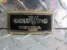 82-87 Honda GL 1100 1200 Goldwing Interstate Top Shelter Emblem 87123-MB9-000