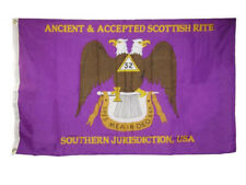 3x5 3'x5' Ancient & Accepted Scottish Rite Southern Jurisdiction, USA Flag