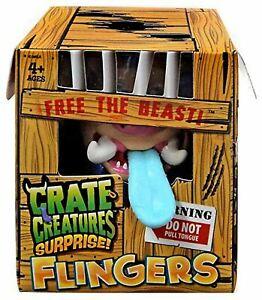 Crate Creatures Surprise FLINGERS Figure - SNORT HOG™ (Series 1)