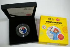 More details for 2018 paddington at the palace colourized silver proof royal mint 50p boxed&coa
