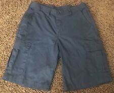 Men's Red Kap Cargo Shorts, Navy, Size 30, Shipping Included!