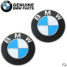 For BMW E36 E30 Set of 2 Wheel Center Cap Emblem Decals Stickers 70mm Genuine