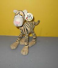 "Taylor The Tiger 9"" Tan Plush Stuffed Poseable Animal Peponi Posers w/ Tag"