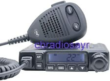 Pni Escort HP 6500 AM/FM CB Radio Station with RF Gain and Cigarette Lighter - Black