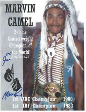 Marvin Camel Autographed 8.5x11 Photo COA