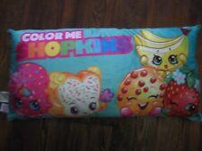 "32"" x 16"" Color Me Shopkins body pillow, NEW"