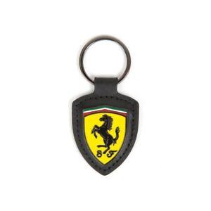 Portachiavi in pelle e metallo Scuderia Ferrari Official