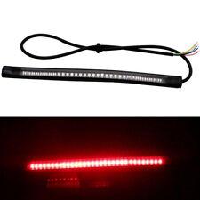 Red Amber Motorcycle Rear Tail Light Strip 48SMD led 12V Signal Stop Brake Lamp
