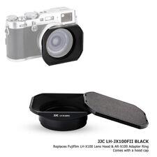 JJC Metal Lens Hood & Adapter Ring & Hood Cap for Fujifilm X100F X100S X100T X70