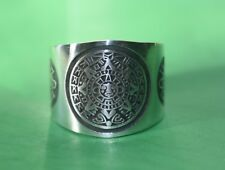 Aztec Calendar Sterling Silver Ring .925 From Taxco MX NEW