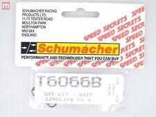 Schumacher SST Kit Diff Circlips PK4 T6066B modélisme
