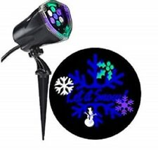 Projection Plus Whirl-a-motion + Static Let It Snow Multicolor