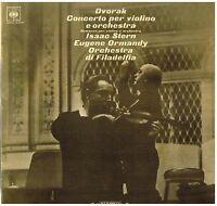 Dvorak: Konzert Für Violine / Isaac Stern, Eugene Ormandy, Philadelphia - LP