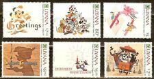 Mint Disney Uyana cartoons stamps  (MNH)