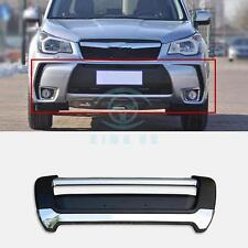 Car 1pc Front Bumper Front Guard Board Protector Trim Refit For Subaru Forester
