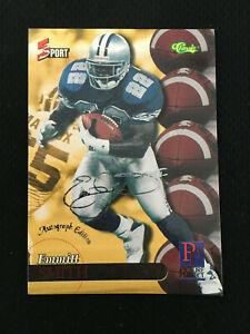 EMMITT SMITH CLASSIC 5 SPORT 1995 DALLAS COWBOYS FOOTBALL CARD