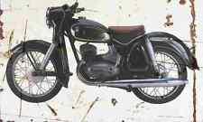 DKW RT175 1957 Aged Vintage SIGN A3 LARGE Retro