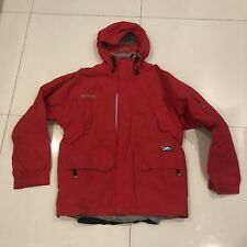 RARE Vintage Sessions Gore Tex Full Zip Issued Red Jamie Lynn Jacket Mens Small