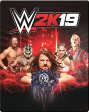 WWE 2K19 Steelbook Case PC, PS4 & Xbox One W2K19 * BRAND NEW * NO GAME