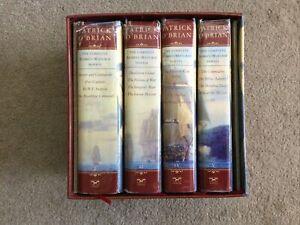 PATRICK O'BRIAN BOXED SET Aubrey Maturin Series 4 Hardcover Volumes