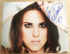 MELANIE C SIGNED Glossy 10x8 PHOTO The Spice Girls MELANIE CHISHOLM