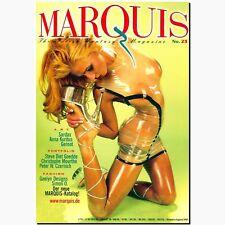 Marquis 23 2001 Fetish Magazin Lack Latex Gummi BDSM EROTIK MODE Peter Czernich