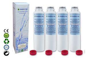 Samsung DA29-00020B Compatible Fridge Water Filter Finerfilters FF-305 x 4