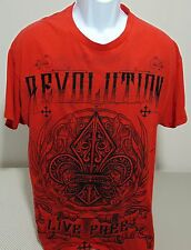 MMA Elite Red Revolution Short Sleeve T-Shirt Mens Large