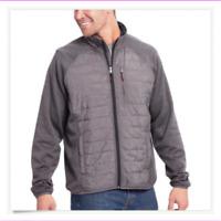 Orvis Men's Full-Zip Hybrid Mixed Media Light-Weight Jacket